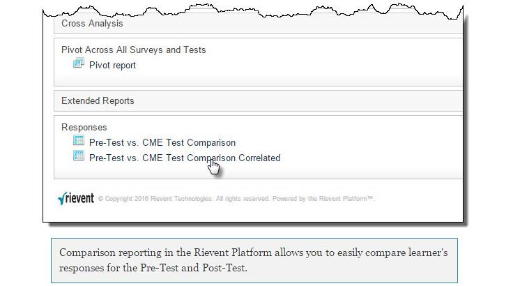 Rievent Comparison Reporting