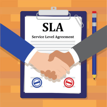 Is Your Service Level Agreement Sla This Strong  Rievent